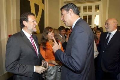 Rajoy (i) y Albiol en una imagen de archivo