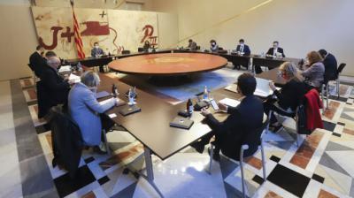 Reunión del Govern este martesRUBEN MORENO-GENERALITAT