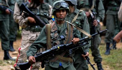 Venezuela tiene 8.000 francotiradores, cada bala es un enemigo menos'