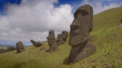 El futuro dudoso del planeta Tierra: Una Isla de Pascua masiva en proceso