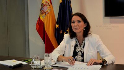 Laministra de Industria, Comercio y Turismo, Reyes Maroto