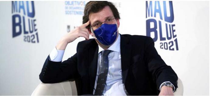 El alcalde de Madrid y portavoz nacional del Partido Popular, José Luis Martínez-Almeida