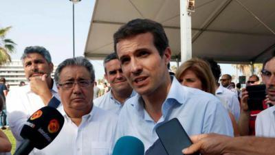 La estrategia de Casado: revelar los apoyos con cuentagotas, ejercer de ganador y arrinconar a Santamaría