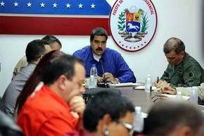 Maduro activa plan para responder a amenazas de Estados Unidos