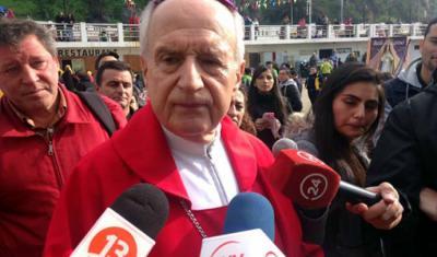 El obispo Gonzalo Duarte, que dejó el cargo después de que el Papa aceptara su renuncia el 11 de junio pasado
