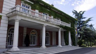 Fachada del Palacio de La Moncloa