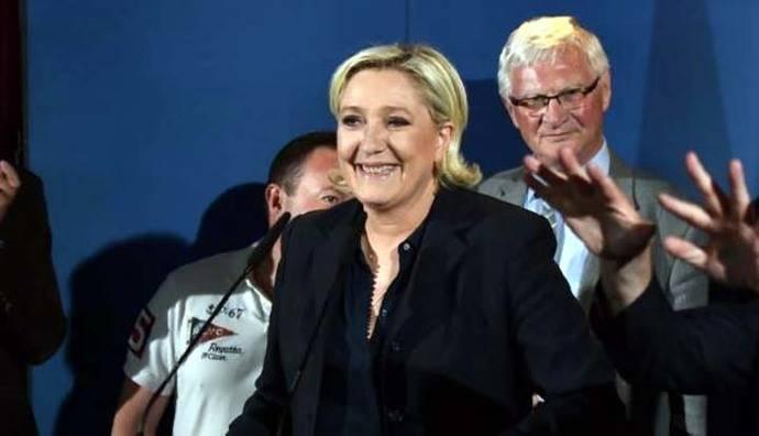 Marine Le Pen, elegida por primera vez diputada en Francia