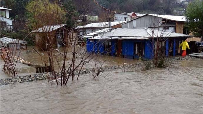 Temporal en Chile deja cuatro muertos 3.000 damnificados y zonas destruidas