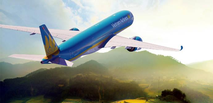 El nuevo avión de Vietnam Airlines