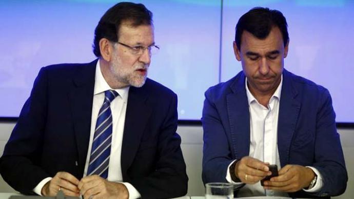 Rajoy y Fdes.Maíllo en una imagen de archivo
