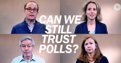 ¿Podemos seguir confiando en las encuestas?