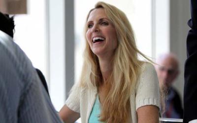 La columnista derechista estadounidense irlandesa Ann Coulter. GAGE SKIDMORE / FLICKR.