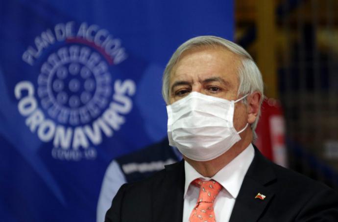 El ministro de Salud de Chile Jaime Mañalich