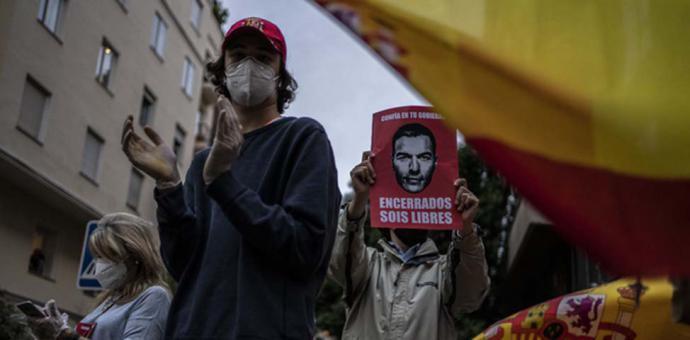 Los barrios más ricos de Madrid prenden la mecha de las movilizaciones contra el Gobierno por toda España