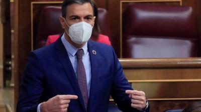 Pedro Sánchez, este miércoles en el Congreso. EFE/ Fernando AlvaradoEFE/ Fernando Alvarado