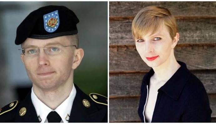 Con pelo corto y maquillada, Chelsea Manning muestra su nueva apariencia