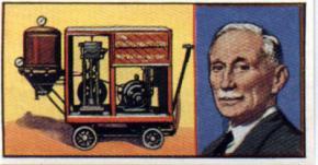 En el año 1905 aparecieron en el mercado los primeros modelos domésticos