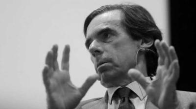 Aznar prevé que el nuevo Gobierno llevará a España a 'una crisis de proporciones devastadoras'