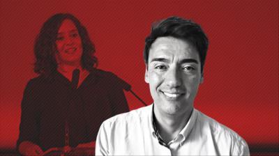 Jorge Vilches, asesor de la presidenta de la Comunidad de Madrid, Isabel Díaz Ayuso.