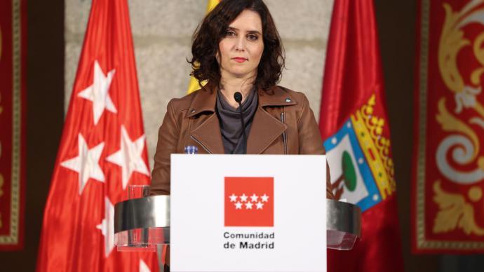 La presidenta de la Comunidad de Madrid. Isabel Díaz Ayuso