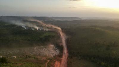 Incendios en Bolivia consumieron 4,1 millones de hectáreas según una ONG