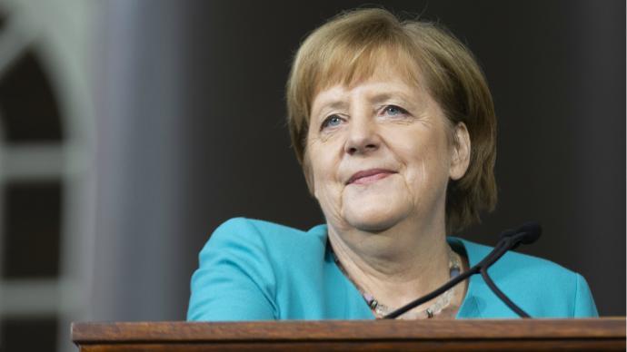 Angela Merkel, la jefe del gobierno alemán