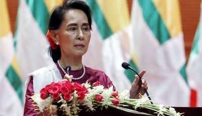 La lideresa birmana hizo el anuncio en una rueda de prensa celebrada en Naipiyido ante diplomáticos, autoridades y periodistas