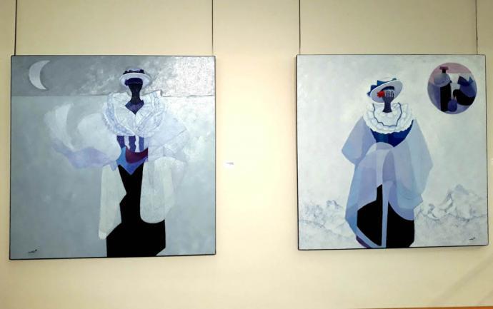 Maycho Yurín Llimpicuna (donde nacen los colores) la pintura de Leovigildo Cristóbal