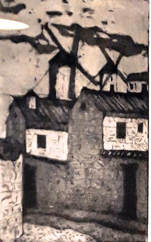 Exposición de Grabados de Luis Carlos Garrido Sánchez, en el Café Local de Valdpeñas