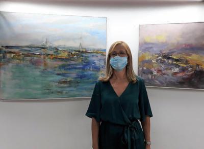 """""""Caminando"""" la Exposición de María José Bro, en el molino """"Goethe"""""""