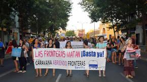 Recorrer España para exigir derechos humanos en la Frontera Sur de Europa