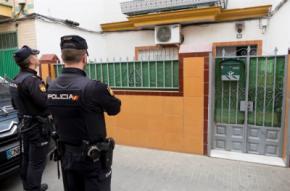 La casa en la calle Ortega y Gasset de la capital andaluza donde residía el presunto yihadista