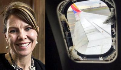 Jennifer Riordan, ejecutiva de 43 años y madre de dos hijos
