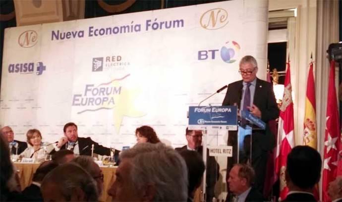 Presentación de Valladolid como sede del Concurso Mundial del Vino de Bruselas