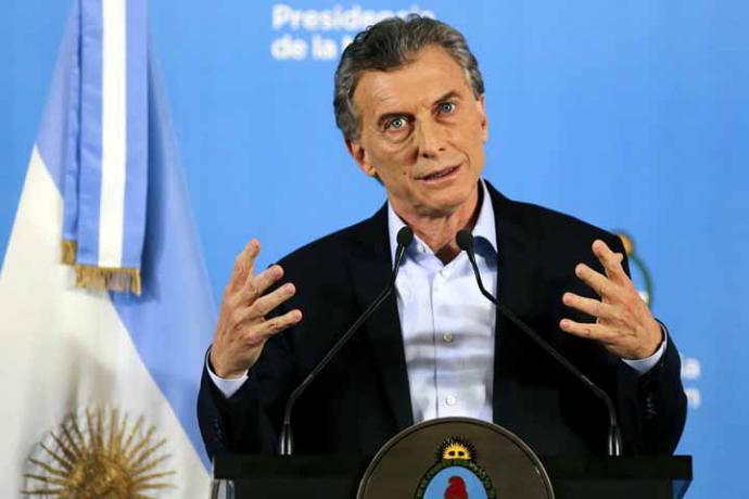 Macri llevará a Venezuela ante la Corte Penal Internacional