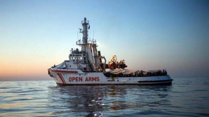 La crisis del 'Open Arms' agrava la tensión entre España, Italia y la ONG