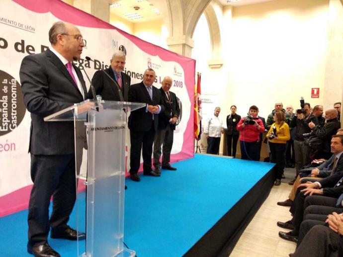 Entregados en León los premios de gastronomía