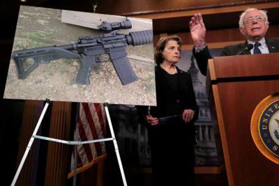 Trump apoya 'mejorar' el control de antecedentes para compradores de armas
