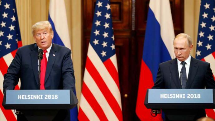 Después de su encuentro en Helsinski Trump invita a Putin a Washington