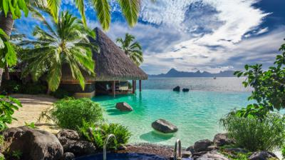 Tahiti, es la mayor de las islas de la Polinesia francesa (imagen de referencia)