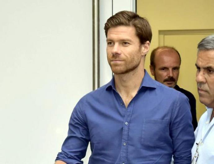 el ex futbolista Xabi Alonso