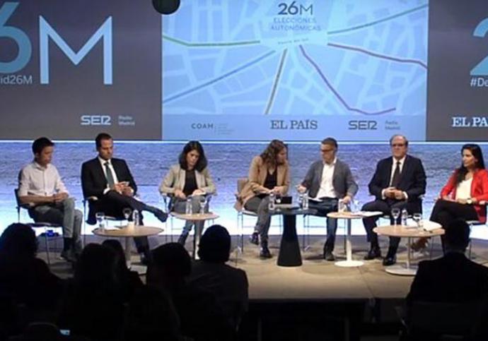 Debate de candidatos autonómicos a la Comunidad de Madrid organizado por Prisa.