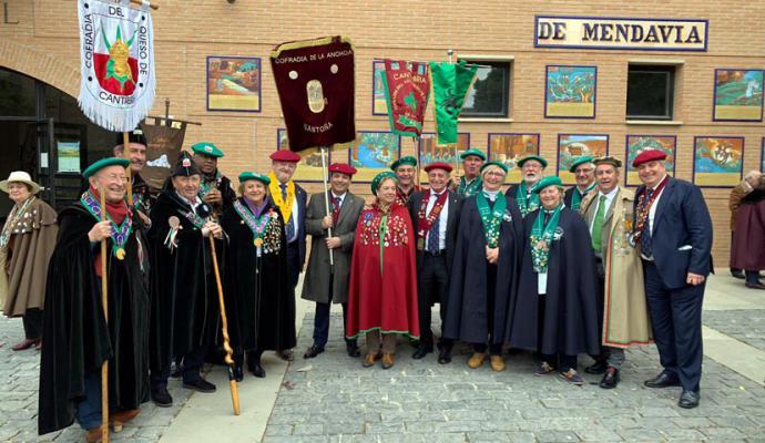 Mendavia acogió el Gran Capítulo del Espárrago de Navarra