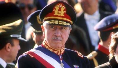 El Dictador chileno ya fallecido, Augusto Pinochet