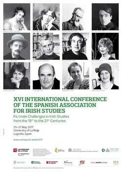 XVI Congreso Internacional de la Asociación Española de Estudios Irlandeses (AEDEI)