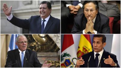 Odebrecht: la pesadilla de cuatro expresidentes de Perú
