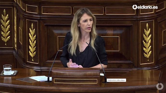 Cayetana Álvarez de Toledo (captura de pantalla)