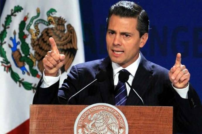 El presidente Enrique Peña Nieto se refirió al asesinato del vicepresidente de telecomunicaciones del Grupo mexicano Televisa