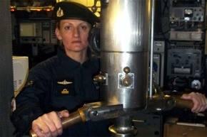 Eliana Krawczyk, la única mujer submarinista argentina y la única a bordo del ARA San Juan, desaparecido hace cinco días.