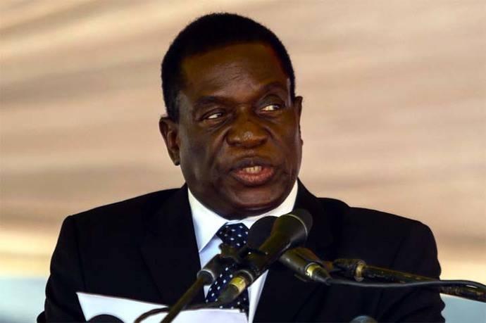 Emmerson Mnangagwa, apodado el 'cocodrilo'